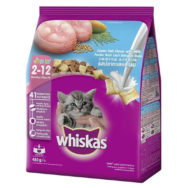 Thức ăn cho mèo con Whiskas Ocean Fish